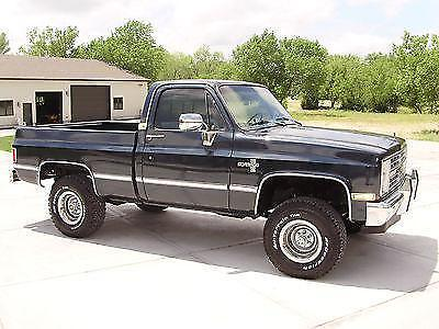 1985 chevrolet silverado k10 pickup 4x4 shortbed for sale photos technical specifications. Black Bedroom Furniture Sets. Home Design Ideas