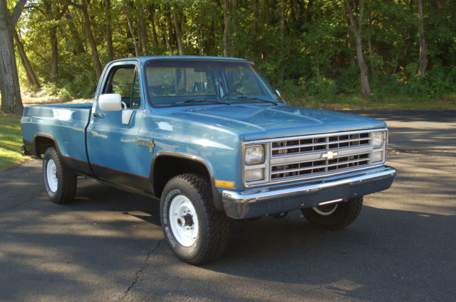 1985 Chevy 3 4 Ton 4wd Pickup Truck For Sale Photos