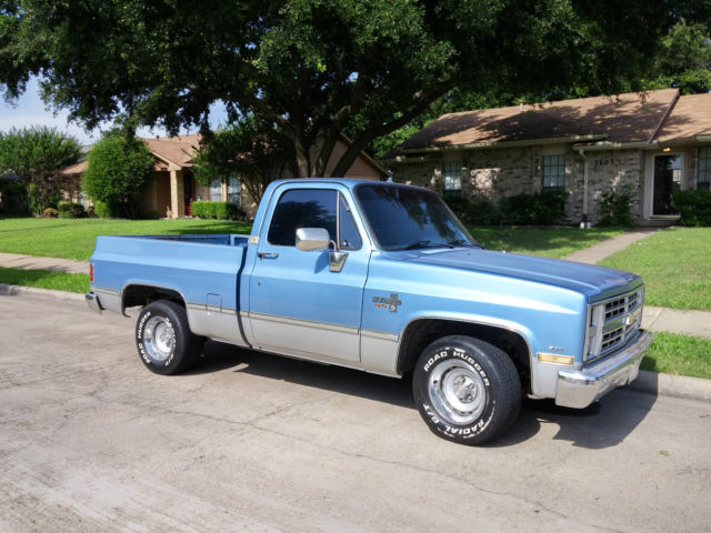 1985 chevy c10 silverado shortbed truck 350 700r4 for sale photos technical specifications. Black Bedroom Furniture Sets. Home Design Ideas