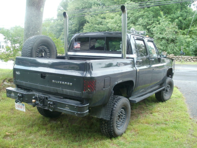 1985 chevy k30 crew cab ultra short bed 6 2l turbo diesel 1 ton 4x4 for sale photos technical. Black Bedroom Furniture Sets. Home Design Ideas