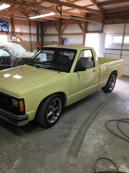 1985 Chevy S10 Shortbed Truck For Sale Photos Technical