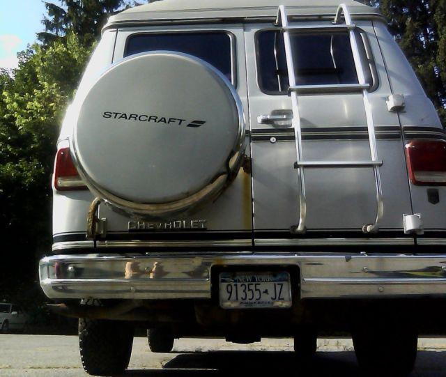 1985 Chevy Starcraft Conversion Van For Sale: Photos