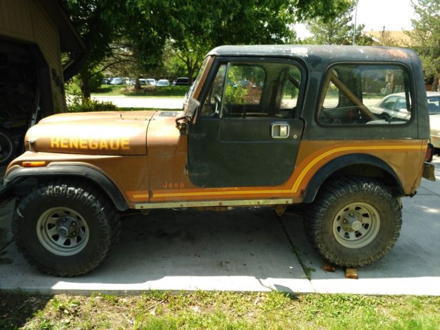 Classic Jeeps For Sale >> 1985 Classic Jeep Cj 7 Renegade Sell Trade Obo 6000 For Sale
