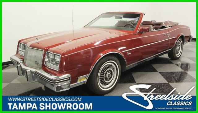 1985 Buick Riviera Convertible 3.8 Turbo