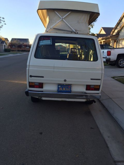 1985 Volkswagen Bus/Vanagon COUNTRY HOMES EDITON