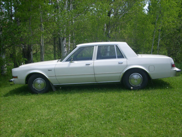 1985 dodge diplomat salon sedan 4 door 5 2l for sale for 1987 dodge diplomat salon
