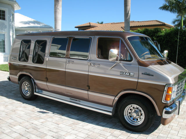 1985 dodge ram b250 van 1 owner very low miles v8 at ac full power immaculate for sale photos. Black Bedroom Furniture Sets. Home Design Ideas