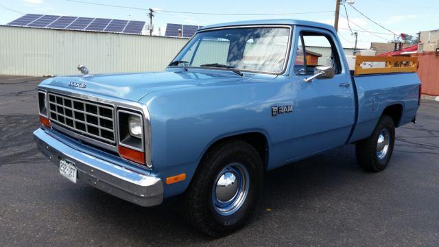 1985 Dodge Ram D 100 Beautifully Restored 46000 Original