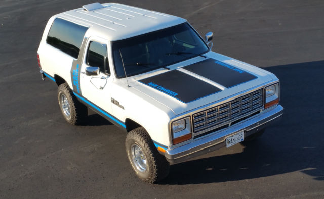 1985 Dodge Ramcharger