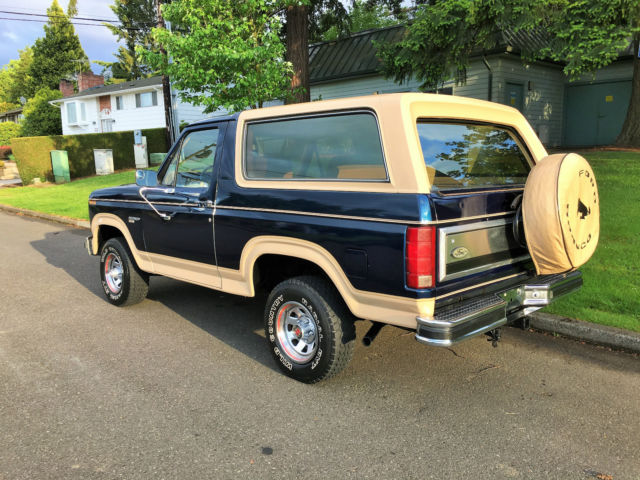 1985 ford bronco eddie bauer 4x4 for sale photos 1986 Ford Bronco 1986 Ford Bronco
