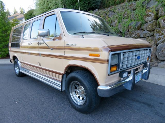1985 Ford Econoline Conversion Van With 37k Original Miles Overdrive