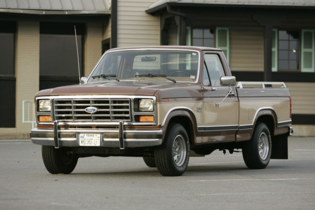 1985 ford f 150 lariat 5 8 for sale photos technical specifications description. Black Bedroom Furniture Sets. Home Design Ideas
