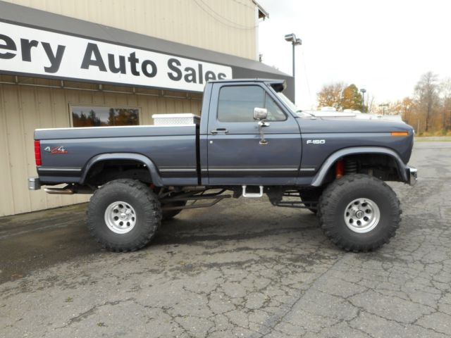 1985 ford f150 4x4 short bed lifted built 351w auto beautiful truck for sale photos. Black Bedroom Furniture Sets. Home Design Ideas