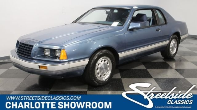 1985 ford thunderbird 30th anniversary edition coupe 302 v8 4.