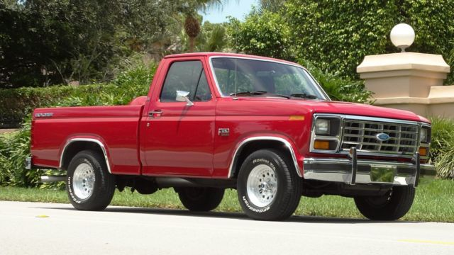 1985 ford xl lariat explorer f150 with 26 000 one owner miles like new must see for sale photos. Black Bedroom Furniture Sets. Home Design Ideas