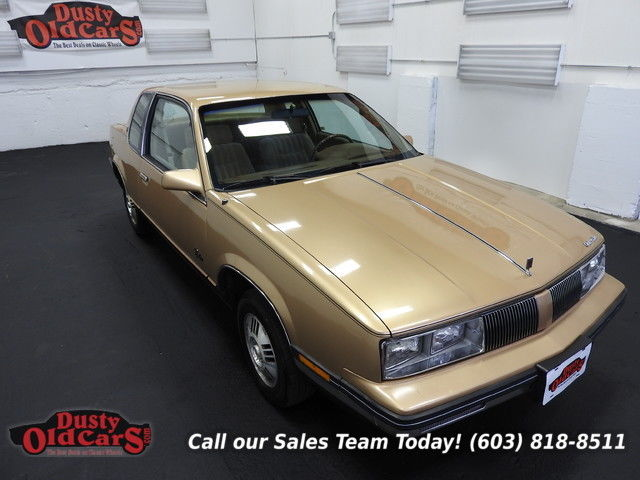 1985 Oldsmobile Calais Runs Drives Body Inter VGood 2.2L 4 cyl 3 spd auto