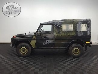 1985 Mercedes-Benz G-Class 4x4 DIESEL MANUAL GD240