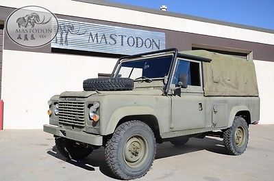 1985 Land Rover Tithonus 110 LHD Hardtop defender 110 4X4 4 wheel