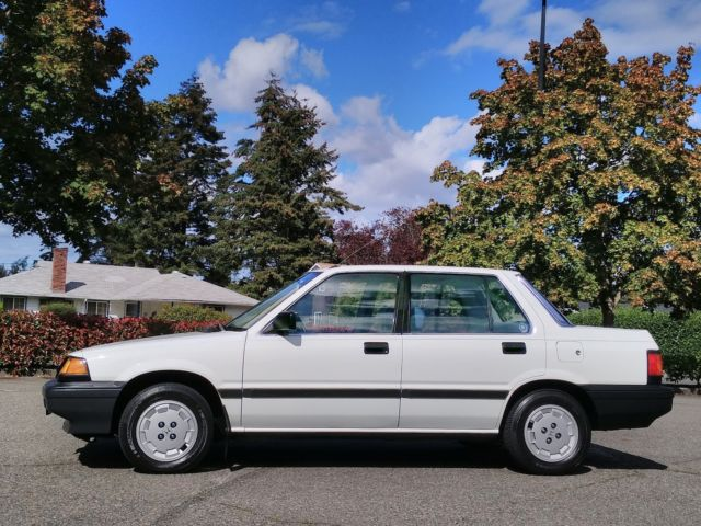 1985 Honda Civic Honda 1500 Sedan Classic WORLDWIDE NO RESERVE