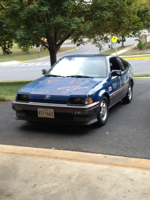 1985 honda crx si autocross car for sale photos. Black Bedroom Furniture Sets. Home Design Ideas