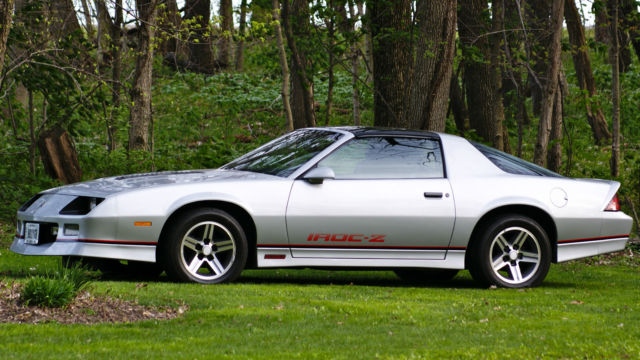 1985 IROC rare Silver loaded 30k miles for sale: photos ...