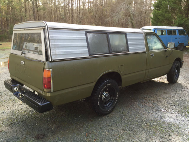1985 isuzu pup pickup diesel c223 long bed nice for sale. Black Bedroom Furniture Sets. Home Design Ideas