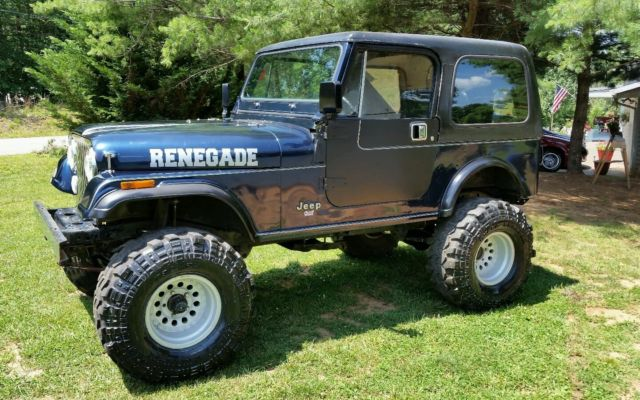 1985 Jeep CJ Renegade CJ-7