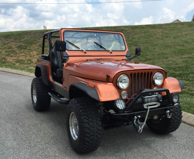 1985 Jeep CJ Custom Frame Off Restored