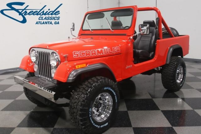1985 Jeep CJ Scrambler