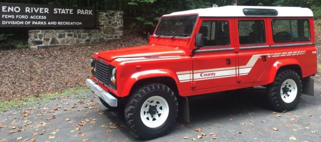 1985 Land Rover Defender Country Station Wagon