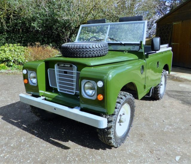 "1985 Land Rover Series 3 88"" Ex Military Soft Top For Sale"