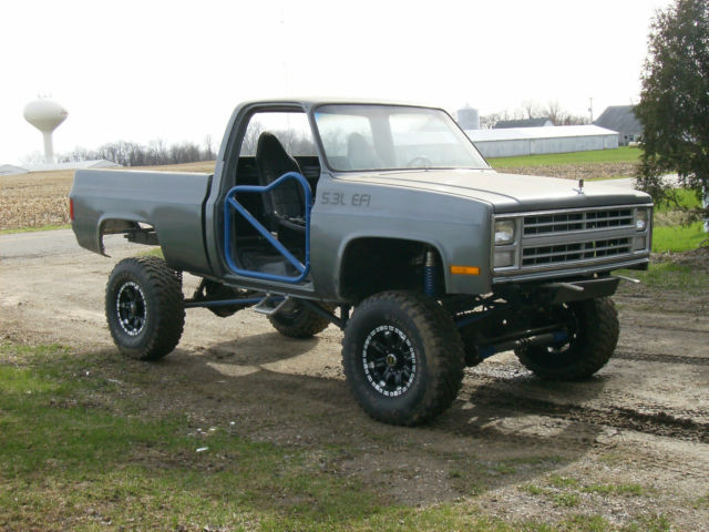 1985 lifted 3/4 ton chevy truck for sale: photos, technical specifications, description