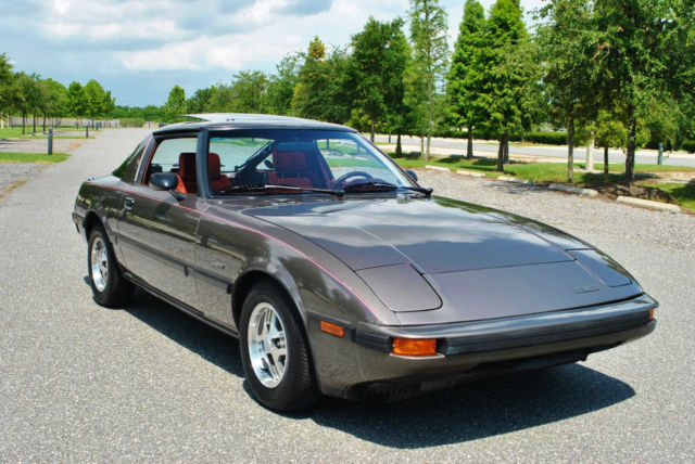 1985 Mazda RX-7 GSL 60K Actual Miles 5-Speed! Loaded!