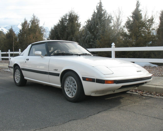 1985 Mazda RX-7 GSL-SE Coupe 2-Door