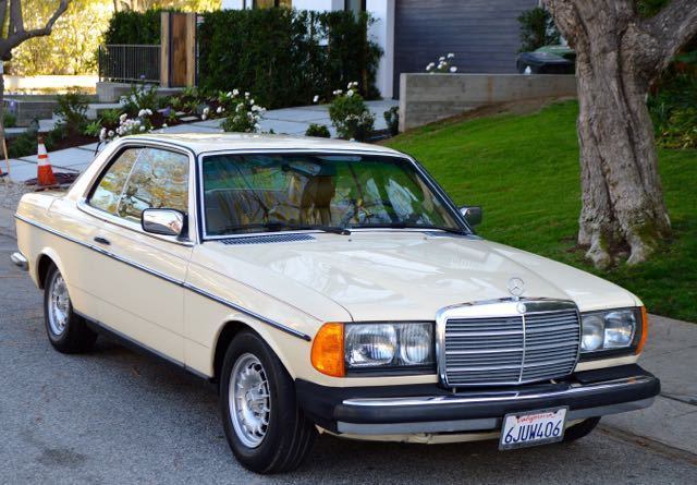 1985 Mercedes-Benz 300-Series gorgeous 1985 300CD turbo diesel coupe