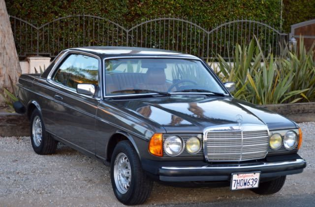 1985 mercedes 300cd turbo diesel coupe only 187k miles 1 for Mercedes benz 300cd for sale