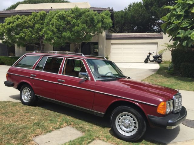 1985 Mercedes-Benz 300-Series TD WAGON