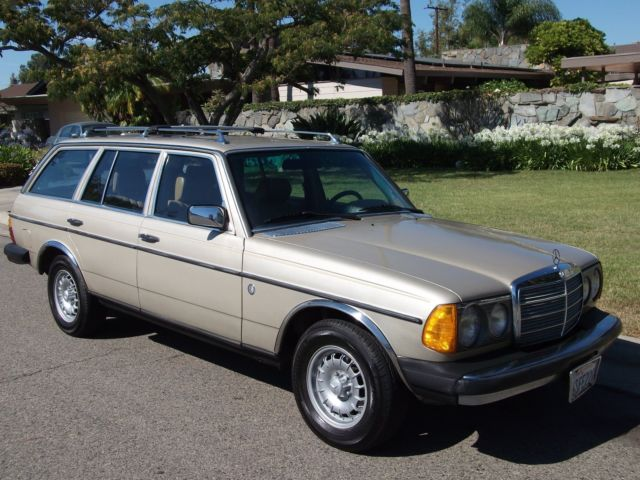 1985 Mercedes-Benz 300-Series Wagon