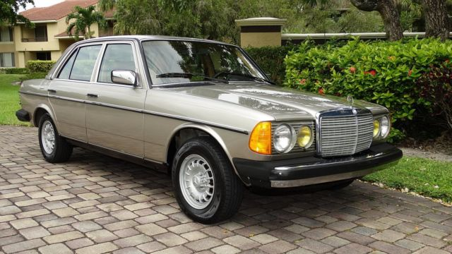1985 mercedes benz 300d turbo diesel 96000 miles full for Mercedes benz service price
