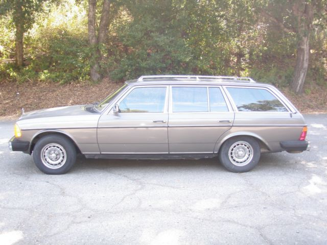 1985 Mercedes-Benz 300-Series TDT, Turbo Diesel Touring