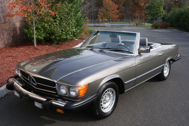 1985 Mercedes-Benz 300-Series 380SL