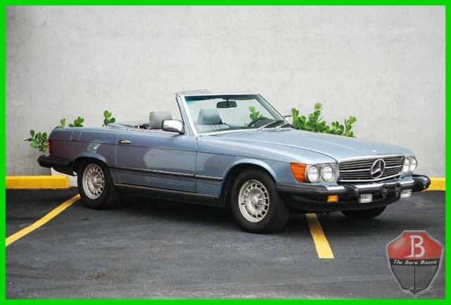 1985 Mercedes-Benz SL-Class VERY CLEAN EXAMPLE BOTH TOPS, BOOKS, TOOLS, KEYS!!