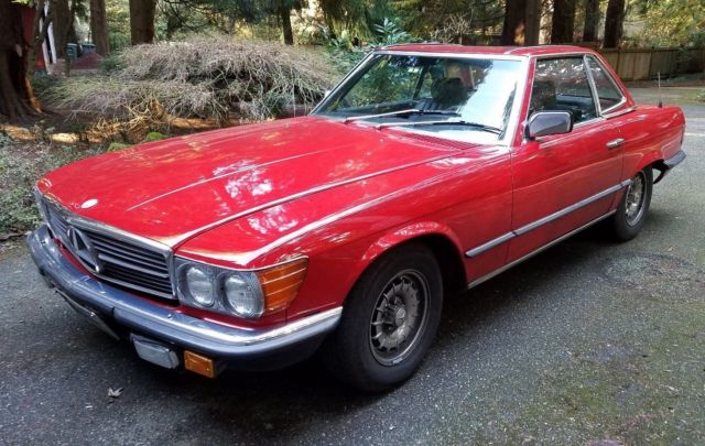 1985 Mercedes-Benz SL-Class Luxury