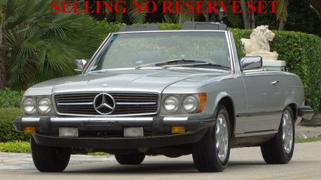 1985 Mercedes-Benz SL-Class ROADSTER WITH BOTH TOPS