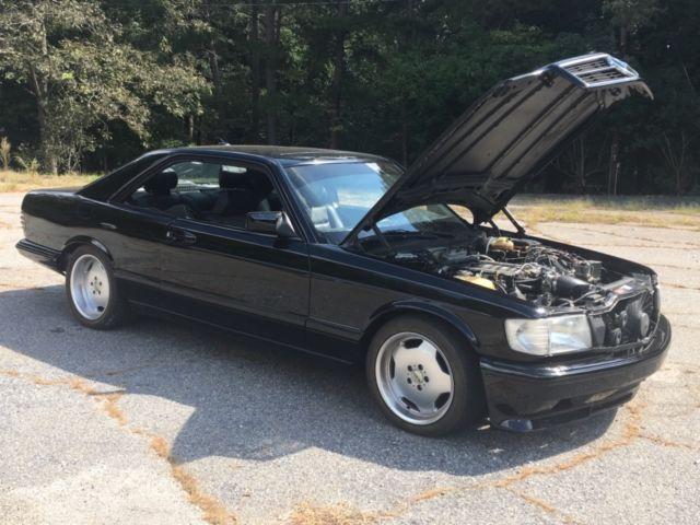 1985 Mercedes Benz 500 SEC LS1 T56 swap hotrod LS Swap for