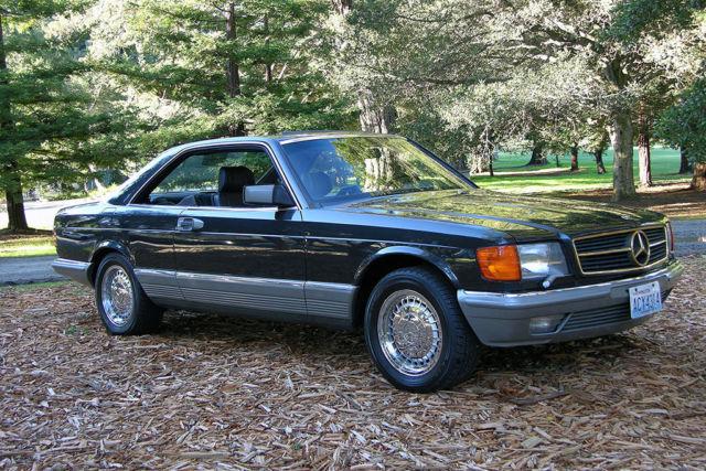 1985 mercedes benz 500sec high compression euro model for Mercedes benz burlingame