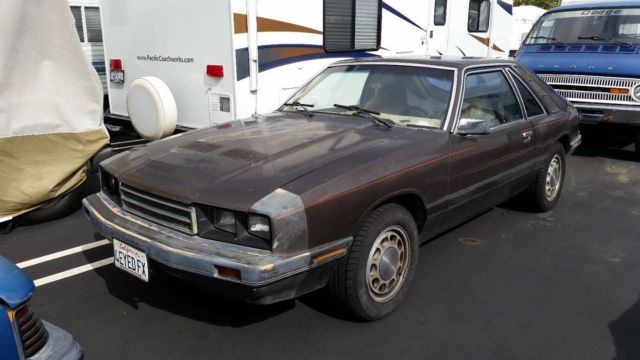 1985 Mercury Capri GS