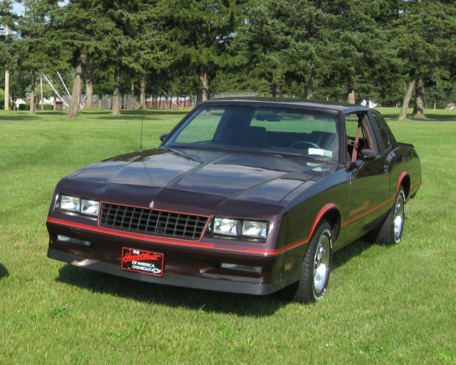 1985 Monte Carlo SS 5 7L 4-speed standard transmission for sale