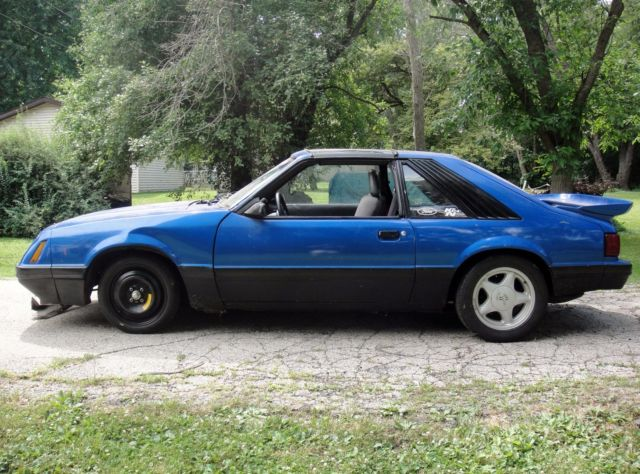 1985 mustang gt t top foxbody project for sale photos technical specifications description. Black Bedroom Furniture Sets. Home Design Ideas