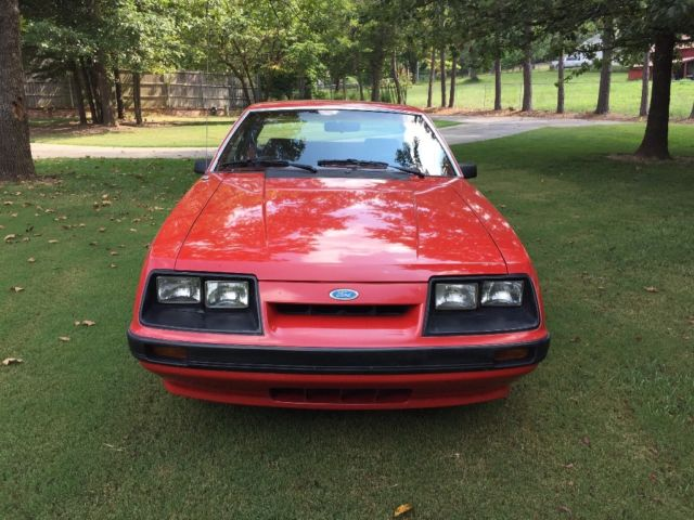 1985 Ford Mustang LX Coup